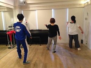 神戸太極拳弓歩