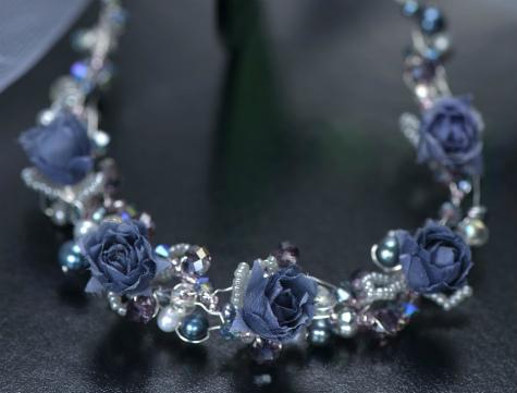 ブログ花の首飾り