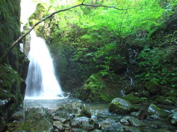 8171山乗不動滝と脇滝160924