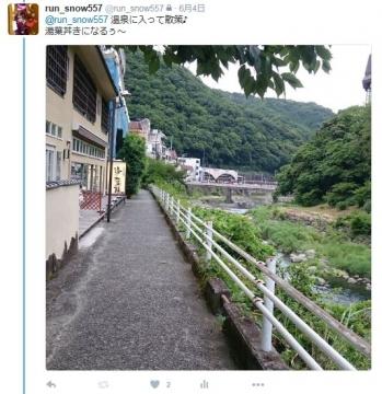 リベンジ富士四湖ユキツイッター4
