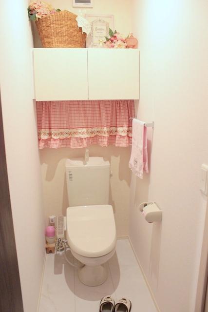 トイレ インテリア 収納 (7)
