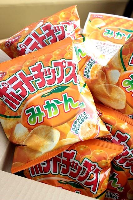 コイケヤ みかんチップス (4)