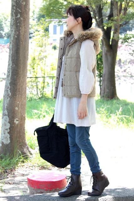 ブログ用 レースアップブーツ AKAISHI (9)