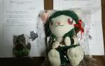 ファミ&ウルフマン人形