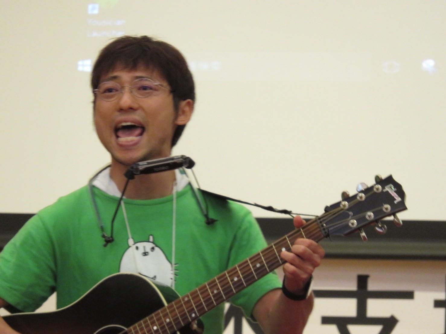 須賀さん歌