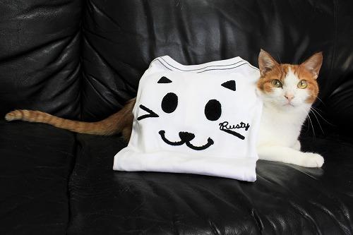 ブログNo.695(にゃんこのTシャツ)4