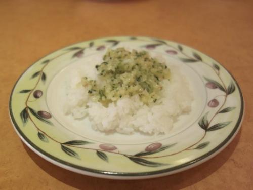 ライス&野菜ソース