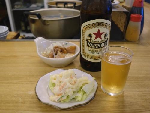瓶ビール&おつまみ