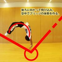 バク転を1人で練習するときの注意点 | やり方とコツが分かる動画