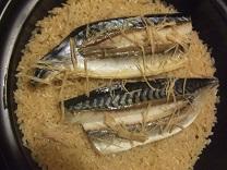 鯖の炊き込みご飯
