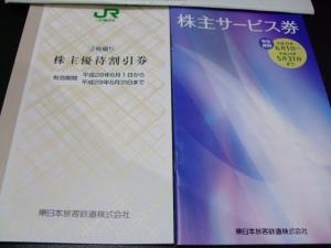 9020JR東 株主優待