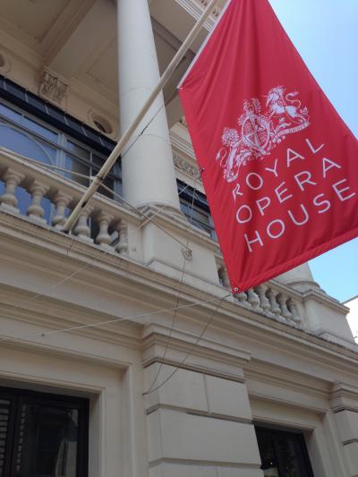 ロンドンのRoyal Opera House はやっぱり