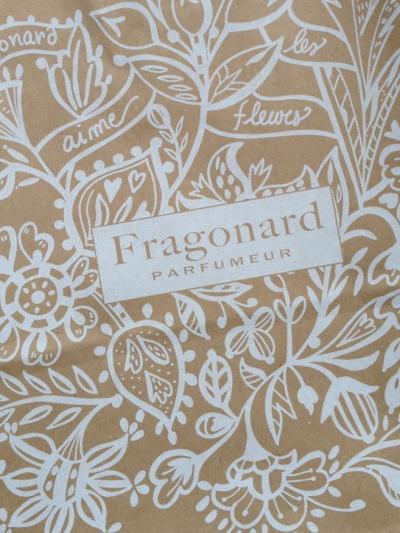 Fragonard の可愛い折りたたみ傘