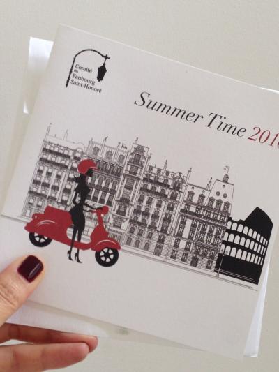 Faubourg Saint Honoré の夏のイベントSummer Time がやって来た!