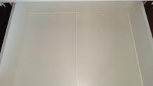 食器棚引き出し ダイソーまな板シート (5)
