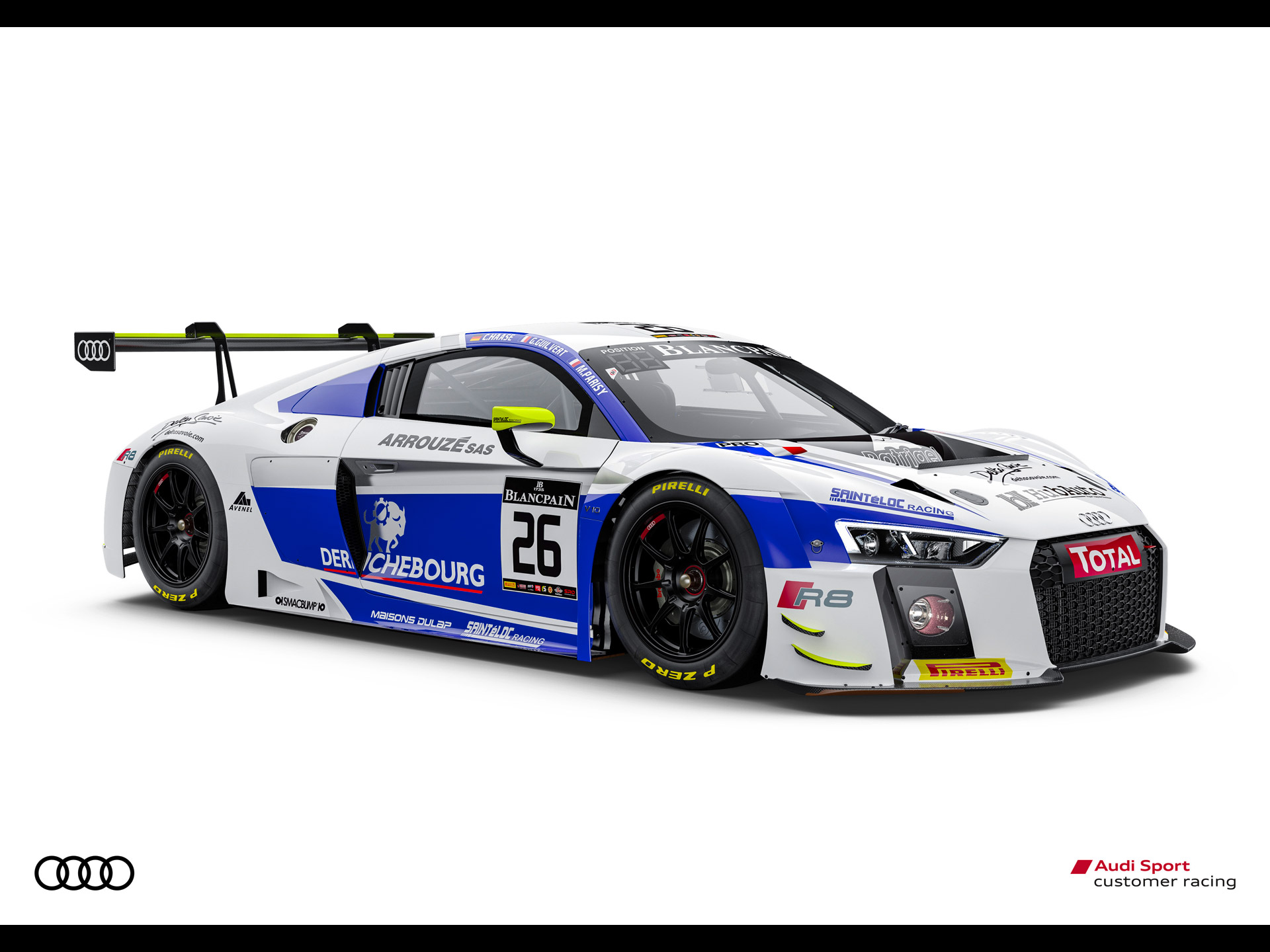 Belgian Audi Club 24 Hours of Spa 2015 Audi R8 LMS Ultra 1:43 Spark SB 112
