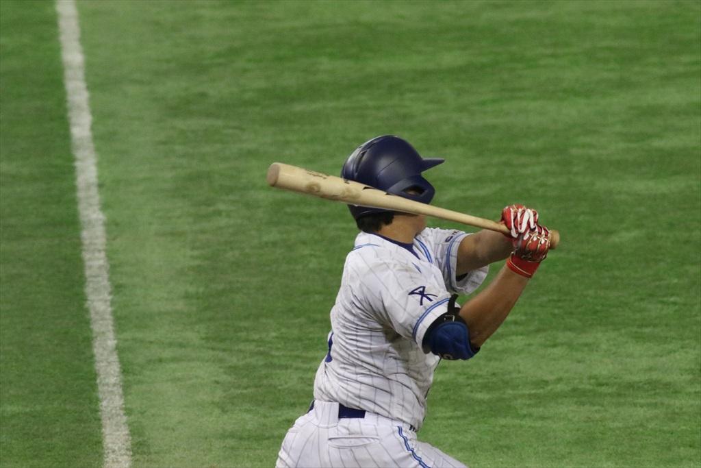 進塁打にはなったものの、2死3塁に_2