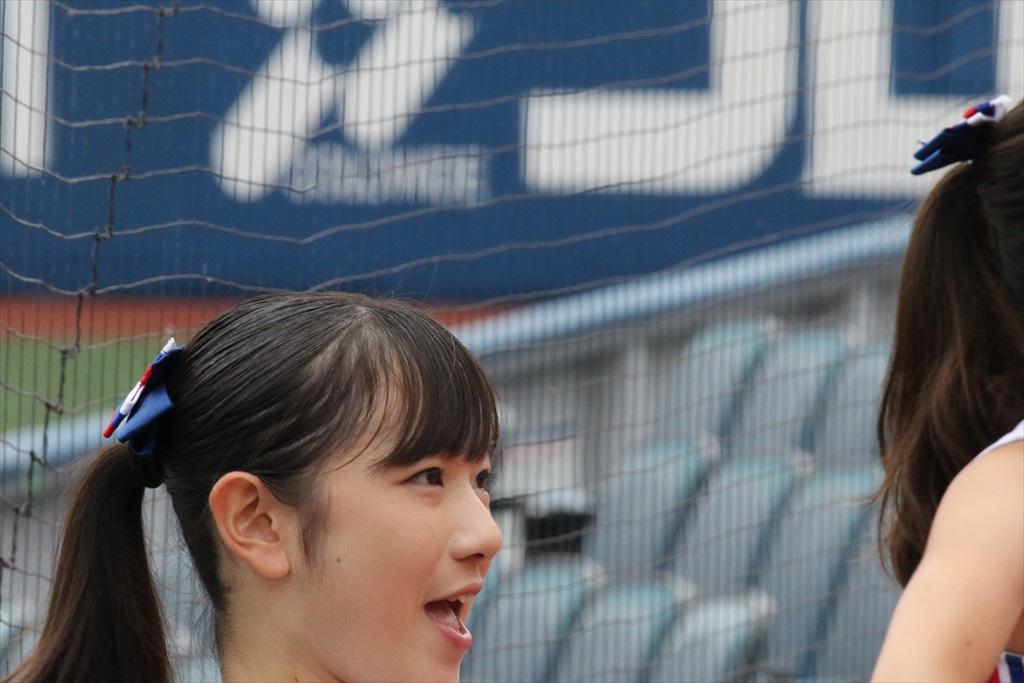 慶応義塾女子高のチアガール_1