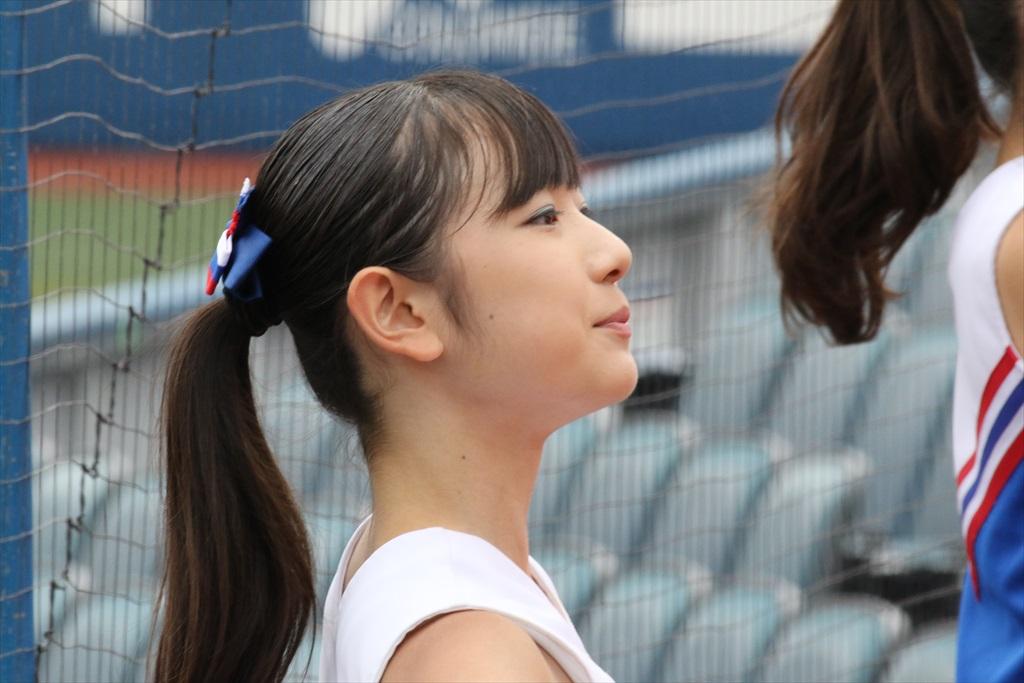 慶応義塾女子高のチアガール_2