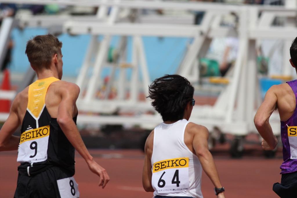 男子3000m(2)レース中盤の戦い_7