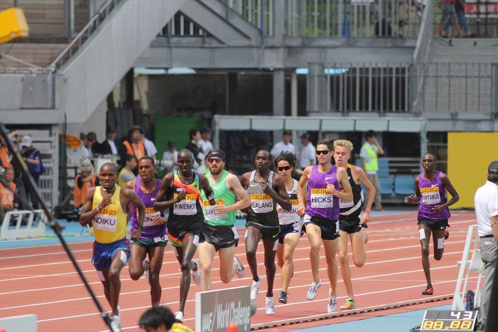男子3000m(2)レース中盤の戦い_10