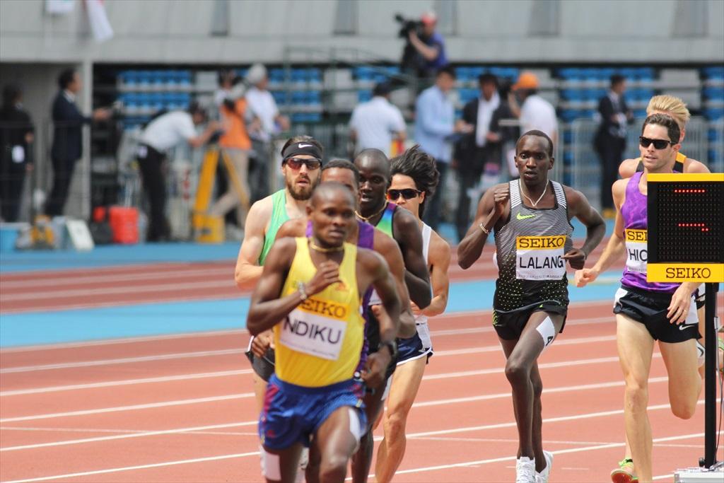 男子3000m(2)レース中盤の戦い_13