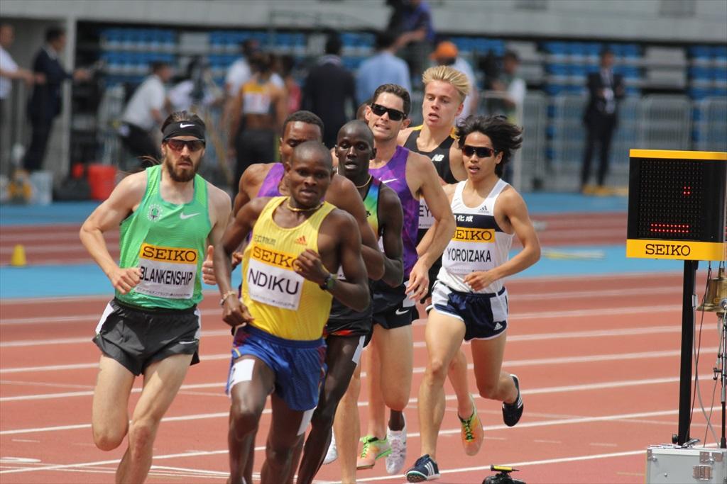 男子3000m(2)レース中盤の戦い_26