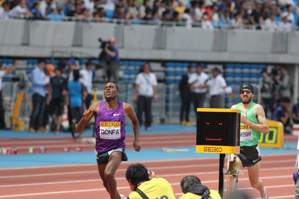 男子3000m(3)レース終盤の戦い_8