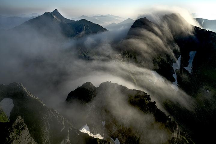 160729 北穂滝雲^