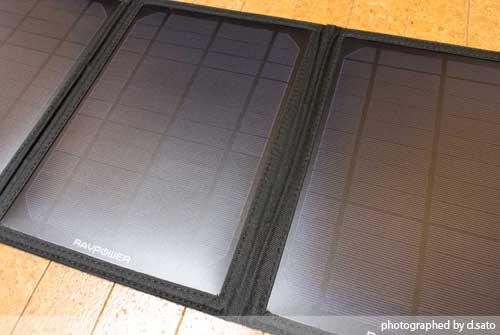 RAVPower ソーラーチャージャー 最安値 折りたたみ式 ソーラーパネル USB 充電器 地震 災害 避難所で必ず役に立つ発電機 13