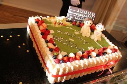 カープ優勝 ウェディングケーキ
