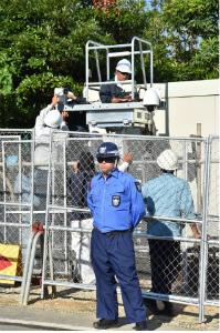 CoE2iMGUEAAW沖縄防衛局が監視カメラ設置