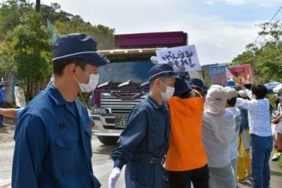CtAkTwEVIAQnB国、ダンプカー33台分の砂利搬入