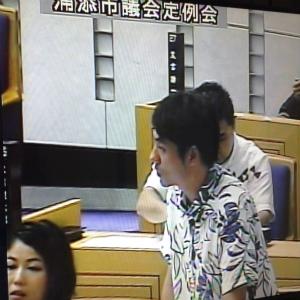 CsNNlXuWAAAU浦添市議会の録画中継の録画