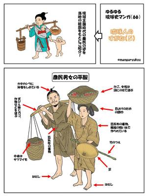 Cs2NKpgVMAAot0w「琉球人のすがた(5)」