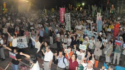 CteRTjOUAAAqNCe東京で2500人抗議