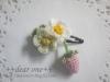 アレンジ♪/小花のヘアアクセサリー(2016/05/25)
