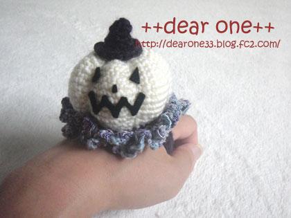 かぼちゃのリストピンクッション160817_2