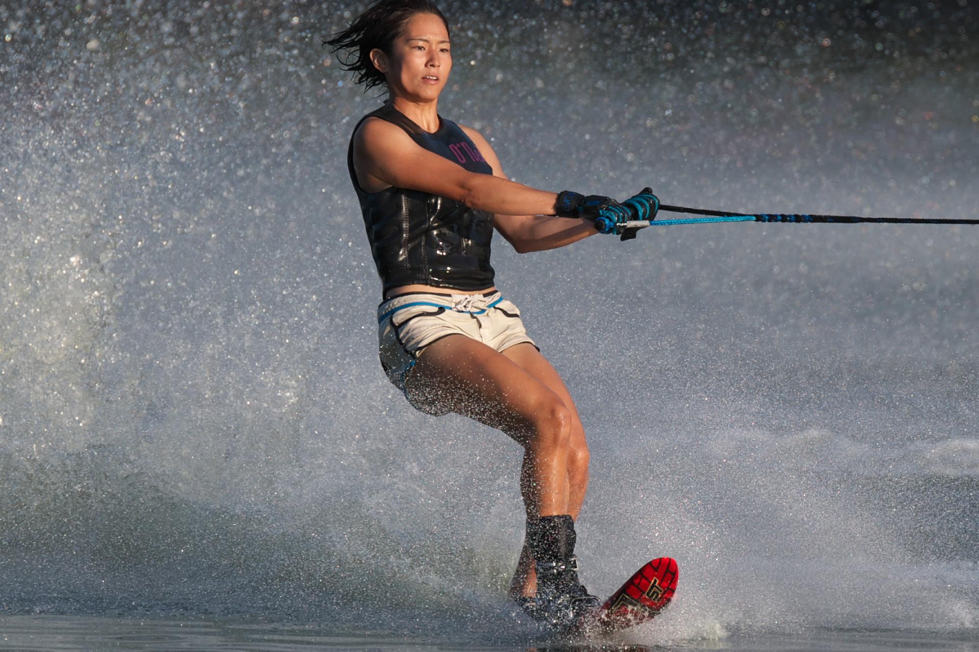 2016JcWC_Slalom2位 東久保百愛選手(福)