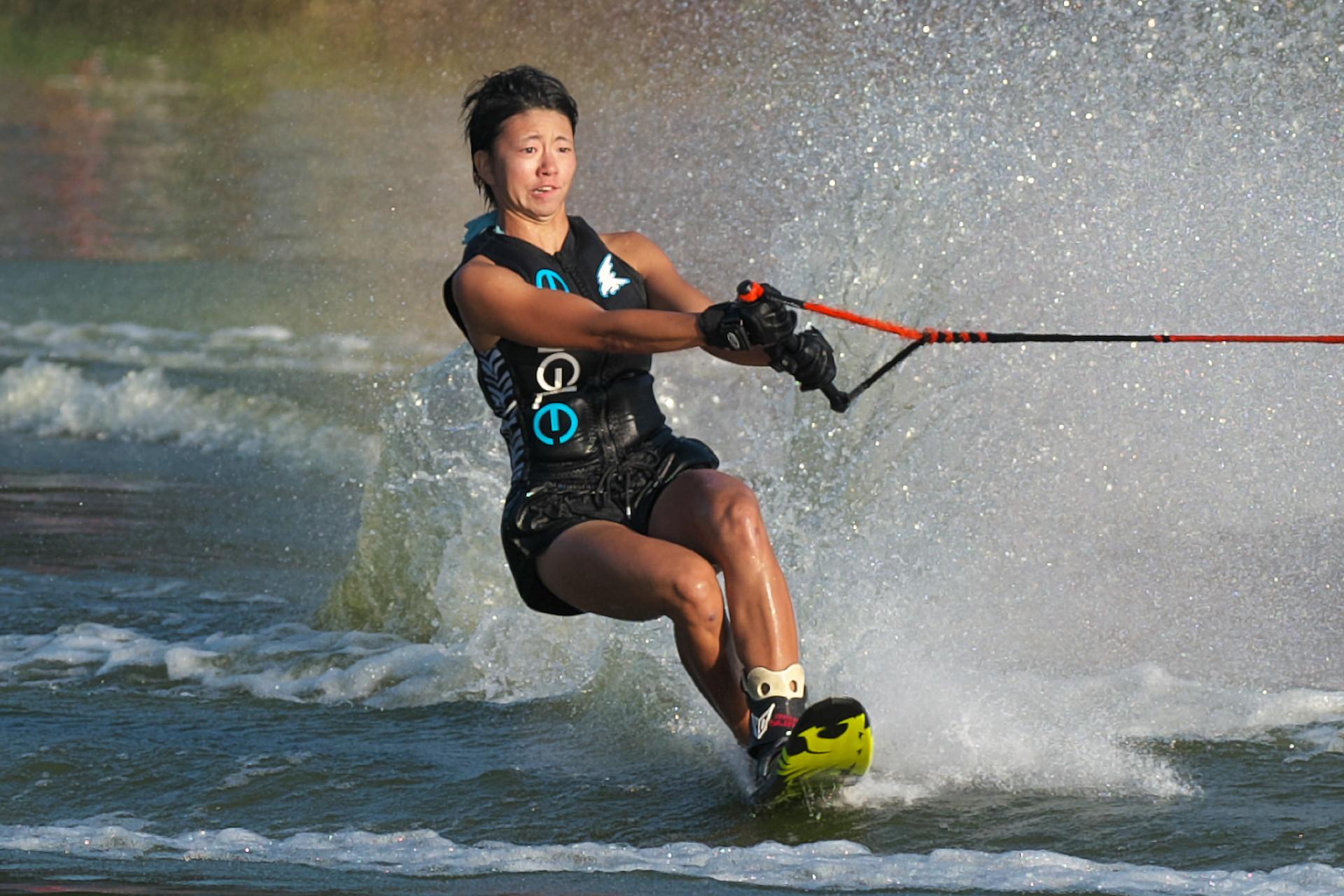 2016JcWC_Slalom3位 吉田江梨花選手(日)