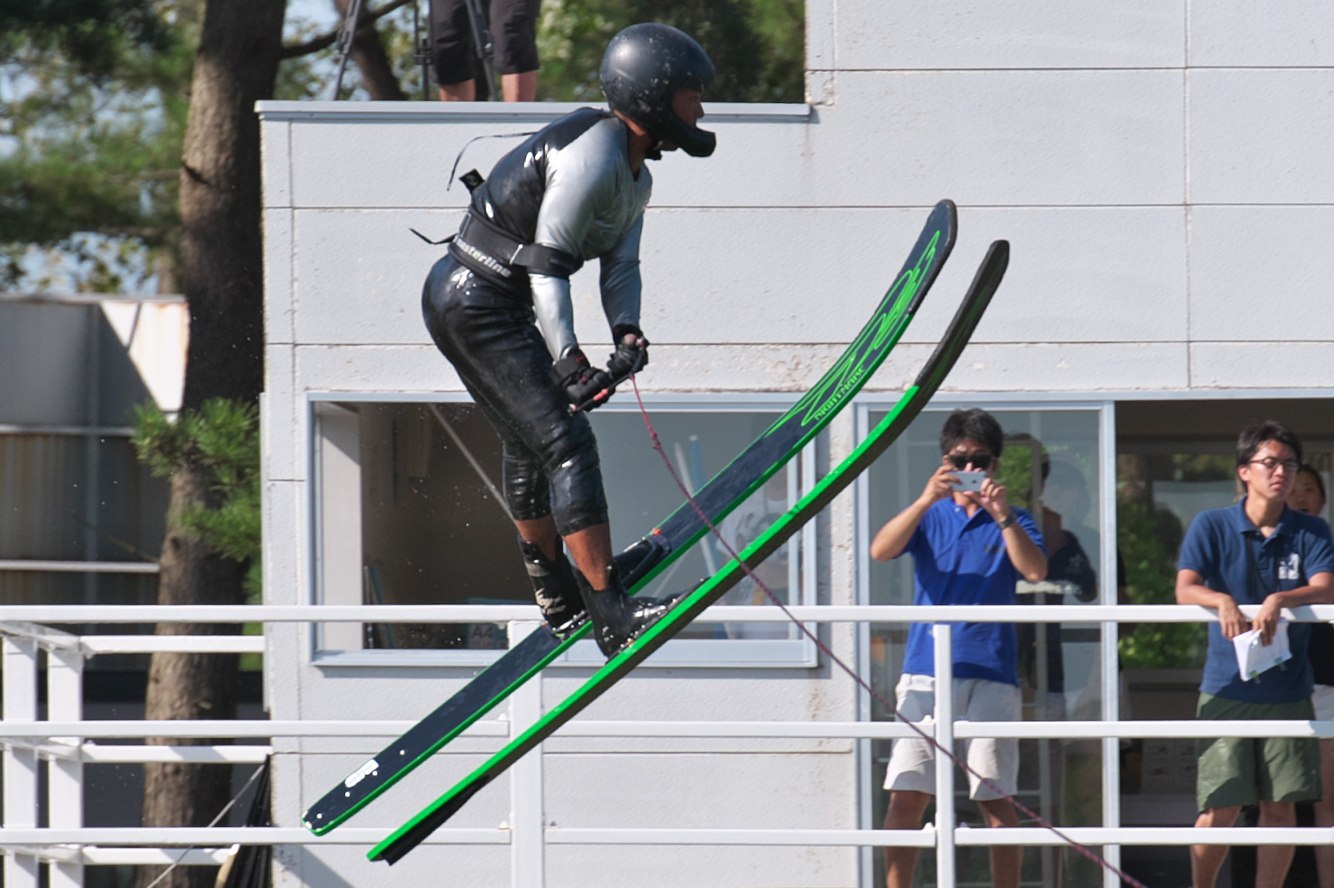 2016JcWC_Jump3位 志村詢選手(慶)