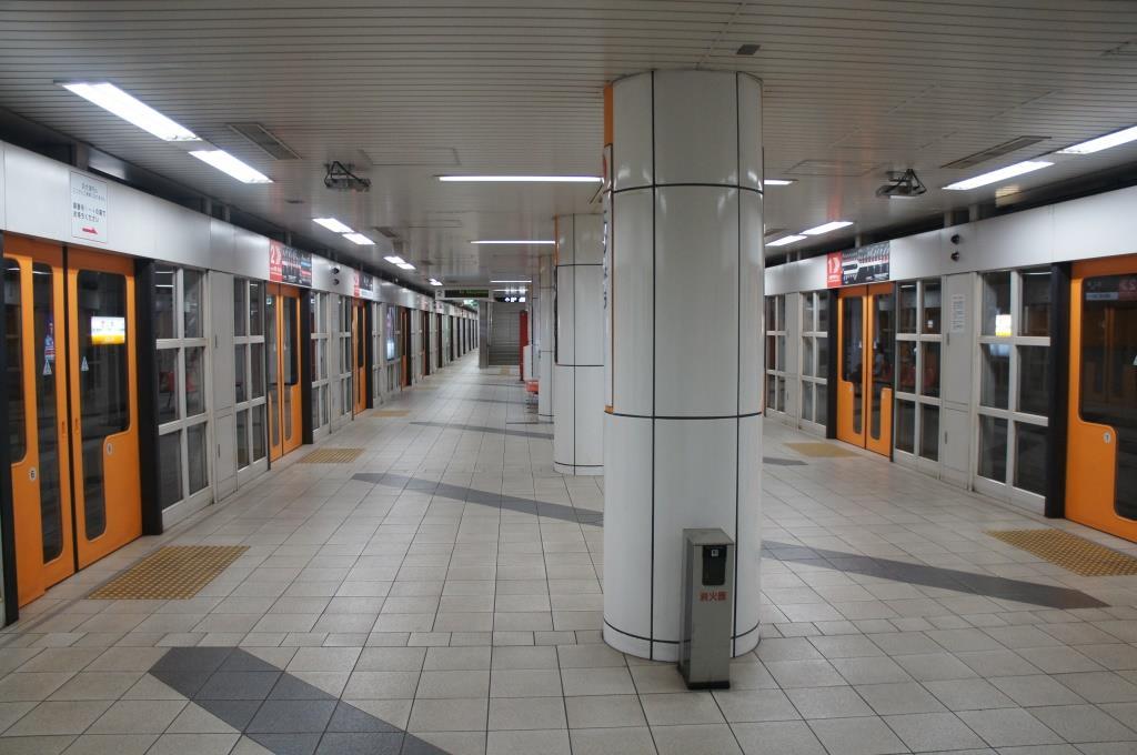 京都市営地下鉄東西線二条駅 - 駅前探訪