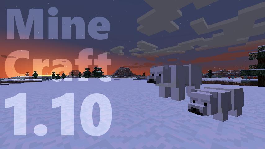 Minecraft version 1-10