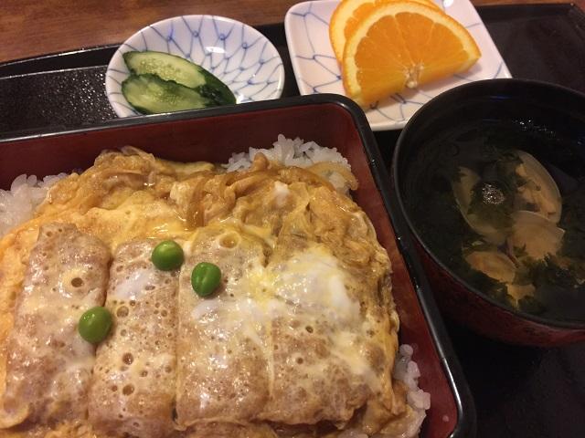 割烹食堂 伊豆菊 カツ丼