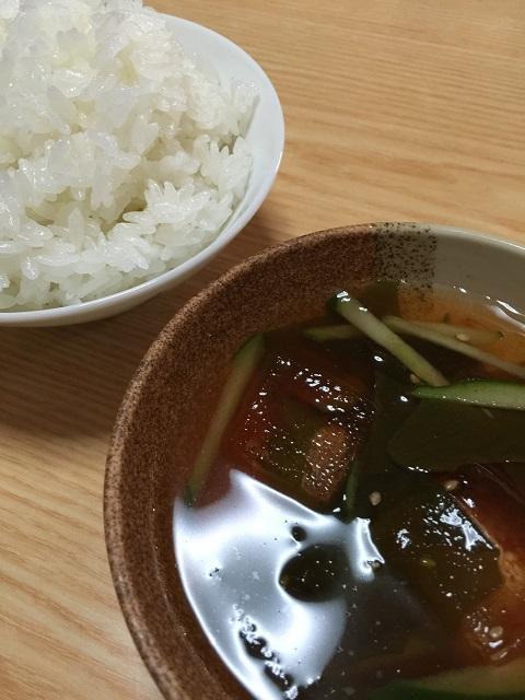 韓国料理 プクチョンマウル ごはん