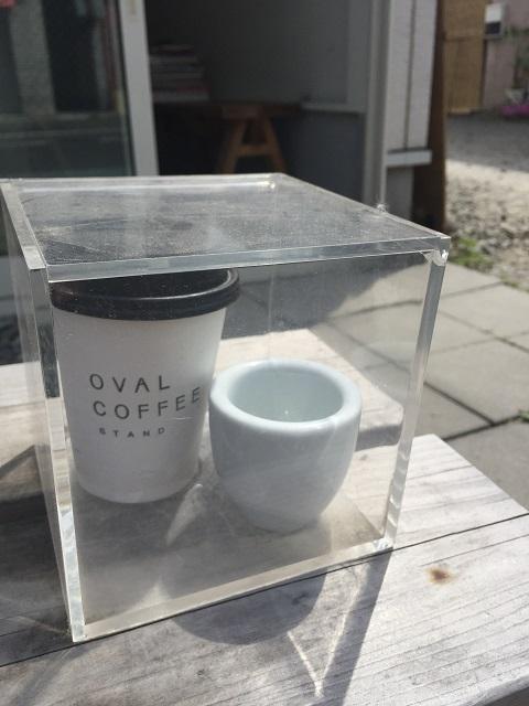 オーバル コーヒー スタンド