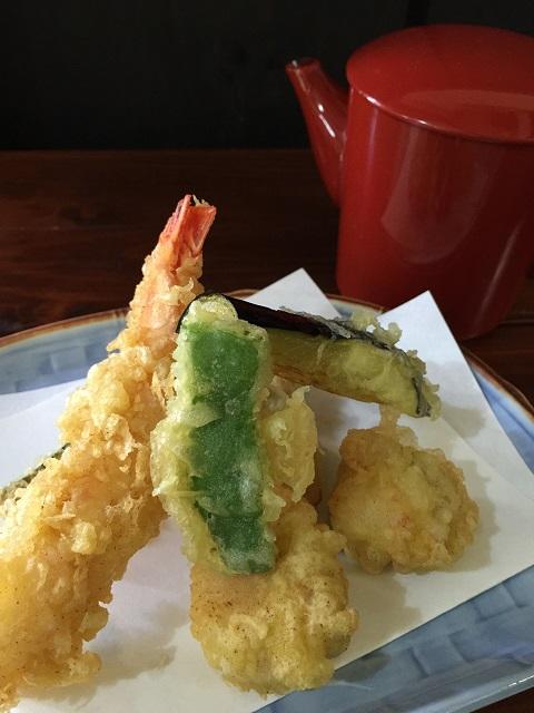 竹の茶屋 稲荷亭 天ぷら