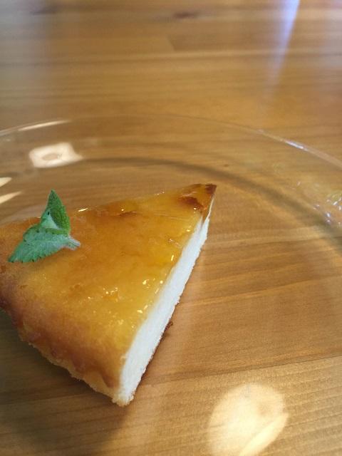 ガーデンカフェ ベイクドチーズケーキ