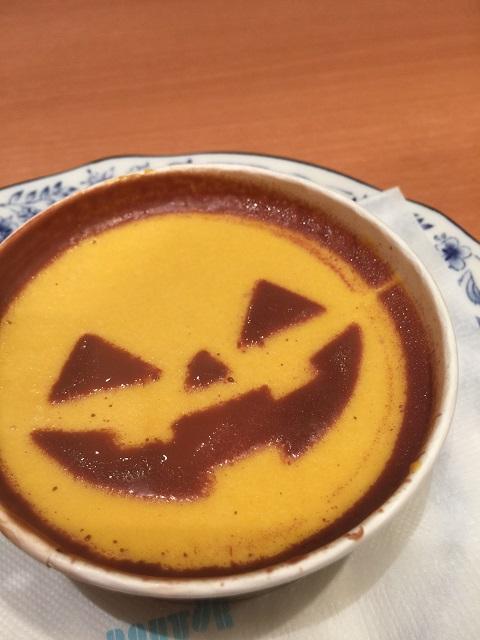 ドトールコーヒーショップ かぼちゃおばけのムースケーキ