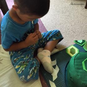 浦島太郎の亀を作ろうvol.2、そしてこの夏の海